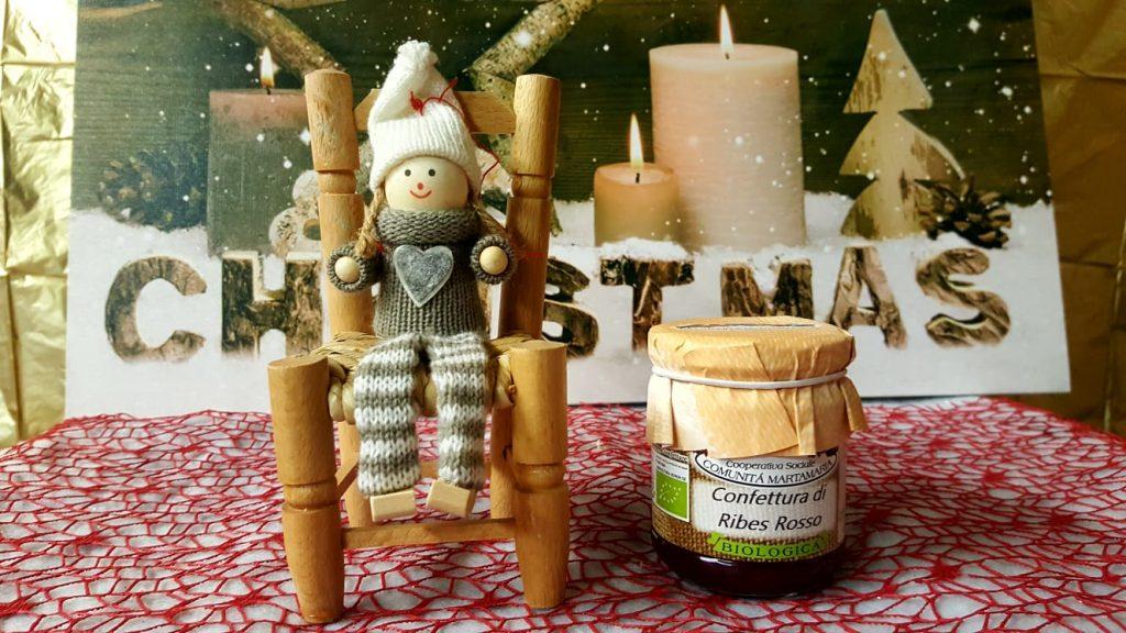 Regali di Natale, prodotti biologici confetture, miele, nettari