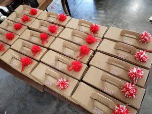 Confezioni regalo di Natale con prodotti biologici Comunità MartaMaria Onlus